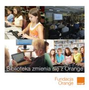 biblioteka fundacja orange logo